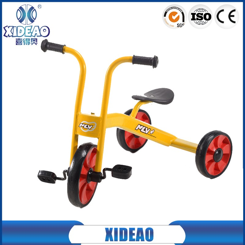 cheap kids tricycle/baby twin trycycle/pedal bicycle