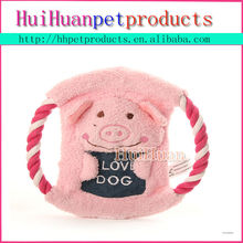 Customed pet toy promotional frisbee canvas pet dog toy