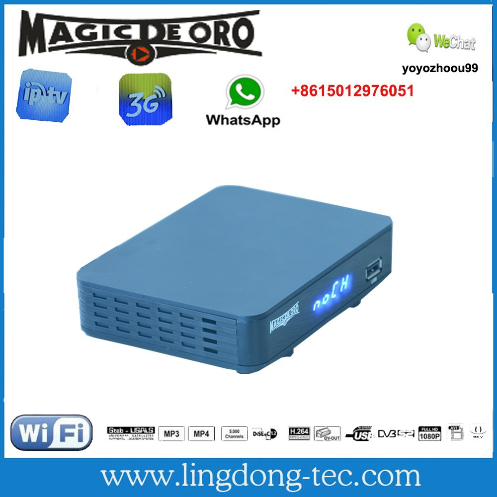 Magic de oro receptor tv digital with iks sks free for south america