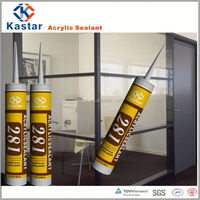 chemical filling acrylic sealant,water based,tubes