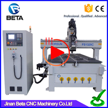 Factory price!! Professional 3 axis 1325 cnc mill cutting router machine for timber cabinets plastic mdf plywood wood