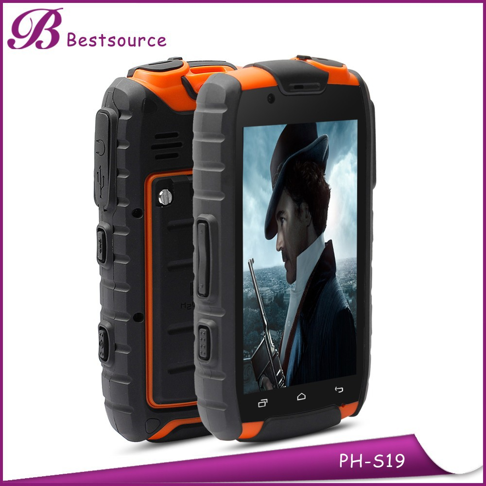 Custom cheap android 3g cell phone walkie talkie smart phone, strong battery mobile phone