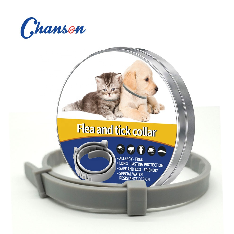 adjustable size Animal Pets Health 8 Months Continuous Prevention Flea and Tick silicone Collar for <strong>Dogs</strong> and cats