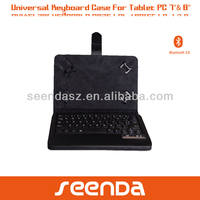 8 inch tablet bluetooth keyboard case, universal 8'' case for tablet