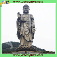 outdoor bronze large buddha statue for sale