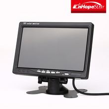 7 inch AV input car LCD Monitor Mini TV car Rear View Monitor