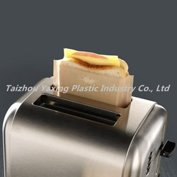 Reusable ptfe sandwich toaster bag microwave use safe