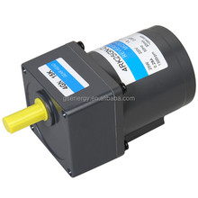 Mass production low rpm 200mN.m 25W 80mm reversible ac gear motor