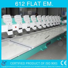 6 NEEDLES 12 HEADS FLAT COMPUTER TAJIMA EMBROIDERY MACHINE FOR SALE IN INDIA