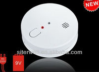 mains powered wireless smoke alarm with backup battery GS515