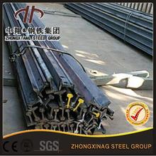 factory sliding gate rail heavy duty steel rail 18kg