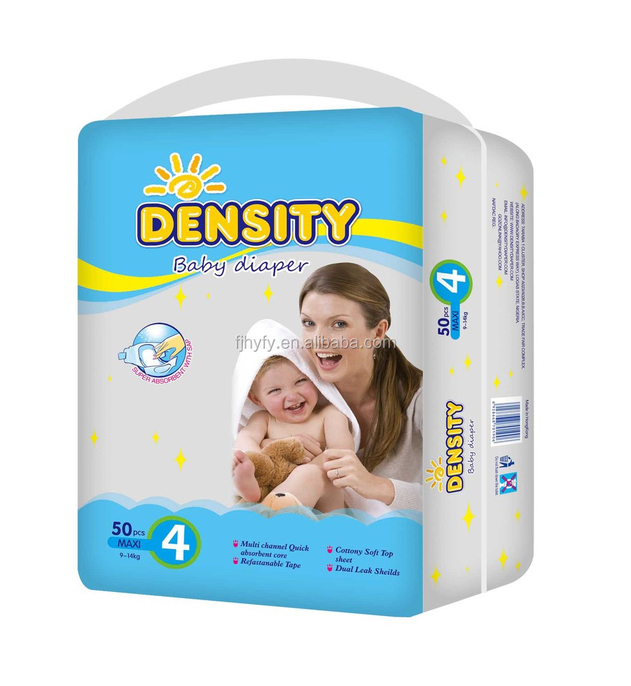 Economic Comfortable High Absorption Disposable Baby Diapers