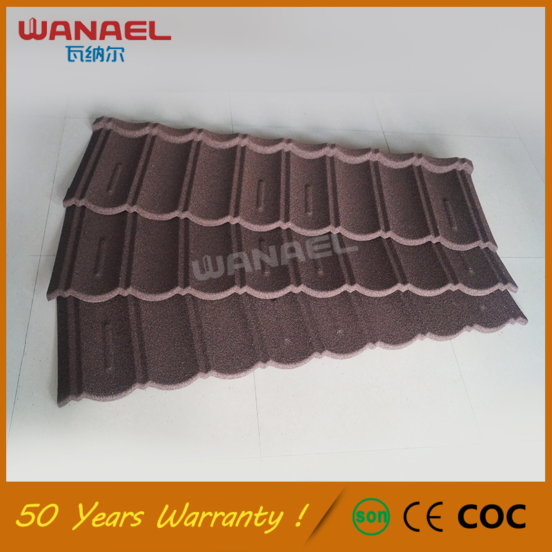 Roofing Sheet Free Sample Wanael Traditional Stone Roof Tile, Galvanized Metal Curved Stone Eagle Roof Tile