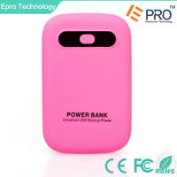 Portable Charger External Battery Pack Backup Power Bank with flashlight