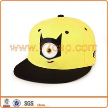 2014 new design minions cartoon snapback hat