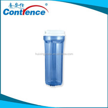 Domestic ro system plastic colorful water filter housing
