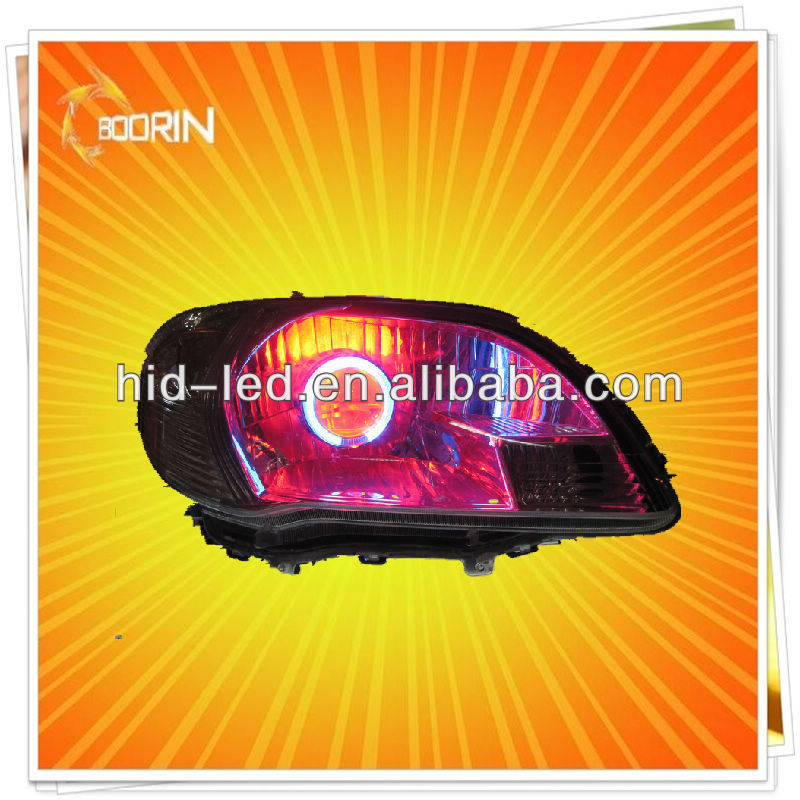 Trendy colorful hot selling new product angel devil eyes xenon light