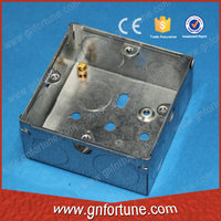 waterproof socket box flush steel wall mounted box