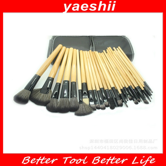 YAESHII Hot Sale 32pcs Makeup Brushes for Beauty Cosmetic Brushes 2016