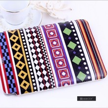 Alibaba China October latest designed pu leather pouch case for ipad mini custom OEM artworks leather case