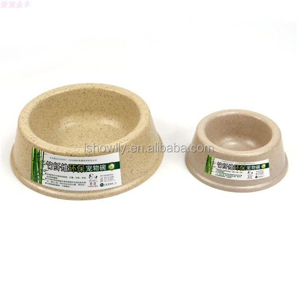 Environmental bamboo pets feeder bowl