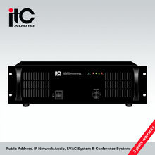 Long life span 1000w power amplifier for outdoor live sound system