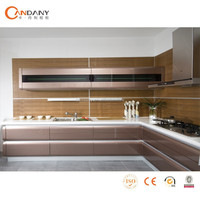 Hot sale lacquer kitchen cabinet,cabinet door protectors