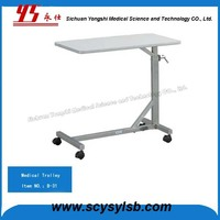 Cheap Medical Hospital Mobile Food Dish Trolle Cart for Sale