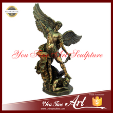 High Quality Cast Bronze Angel Statue With Sword