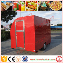 outdoor crepe mall food kiosk container side door for sale for popular selling