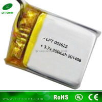 062025 li-ion battery 250mah for power tool