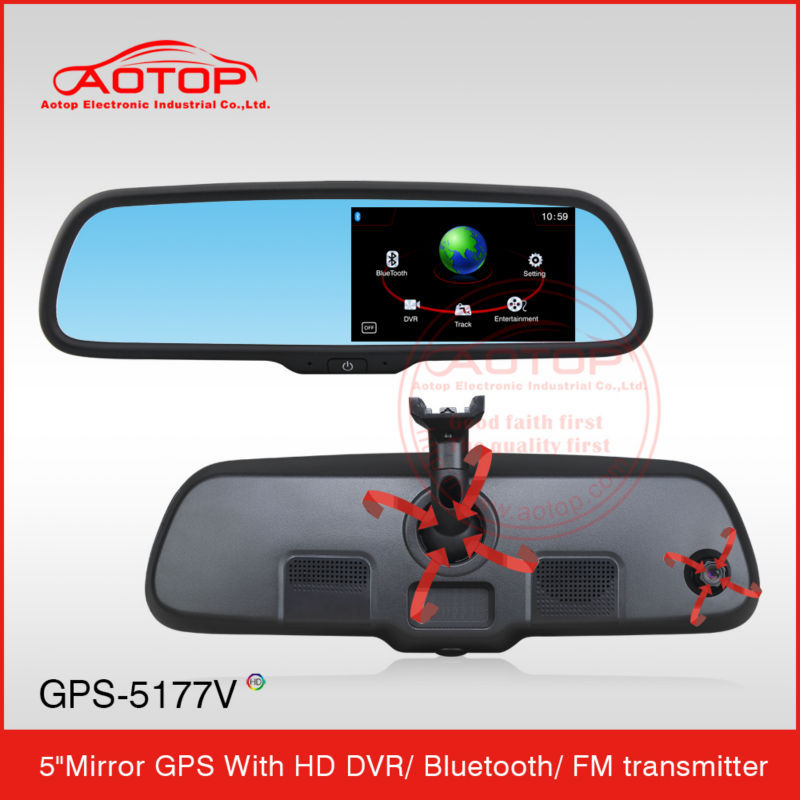 5 Inch Bluetooth Car Gps Navigation For Skoda with Compass ,Bluetooth,FM transmitter,Multimedia Player,AV-IN