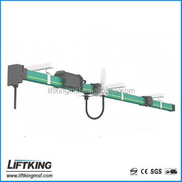 LIFTKING Enclosed Conductor Rails System Mutiple-Pole busbar System for Overhead Crane
