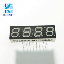 Indoor Small size 16 pins red color 0.28 inch 4 digit 7 segment led display