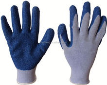 latex coated cotton glove/sex latex gloves