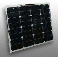 Flexible Solar Panel 50W with Sunpower cells for RV boat, golf car using