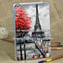 fashion smart case for ipad mini cover (transparent side )