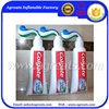 Big 3.5m diameter PVC inflatable toothpaste replica balloon cheap on sale S6038