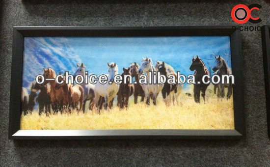 CK-7 Modern Wall Decor 3d 8 Horse Picture Art Painting