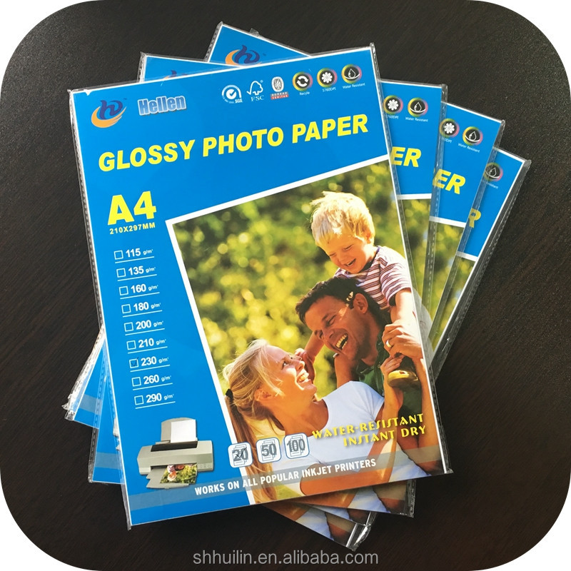 inkjet high glossy photo paper 180g 20 sheets per pack