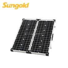 80w portable mono folding solar panel for camping