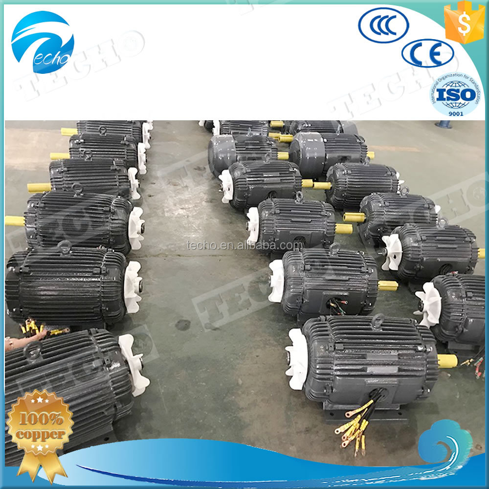 Three Phase Foot Mount medium size Electric Motor