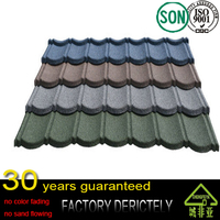 top sale color metal roofing sheet tile for Africa / decorative house material for roof / CE certificate roof tile made in china