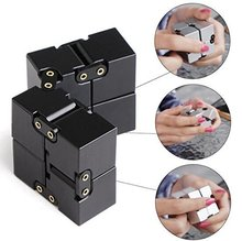 2017 Popular Best Sell In World Pressure Reduction Toy Infinite Cube Fidget Cube