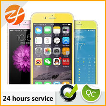 Shiny color Tempered glass screen protector For iphone 6 and 6 plus front and back set