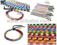 800 Fashion jewelry waxed cords braided rope woven friendship ethnic