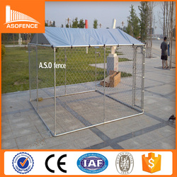 A.S.O china factory export 50*50mm opening easy installtion fold the dog kennel