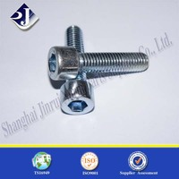 HEX SOCKET CAP SCREW WITH GRADE 8.8 BLUE ZINC2