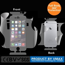 360 Degree Body Protector Bubble free Anti uv Anti blue For iPhone 6 Korea clear screen protector