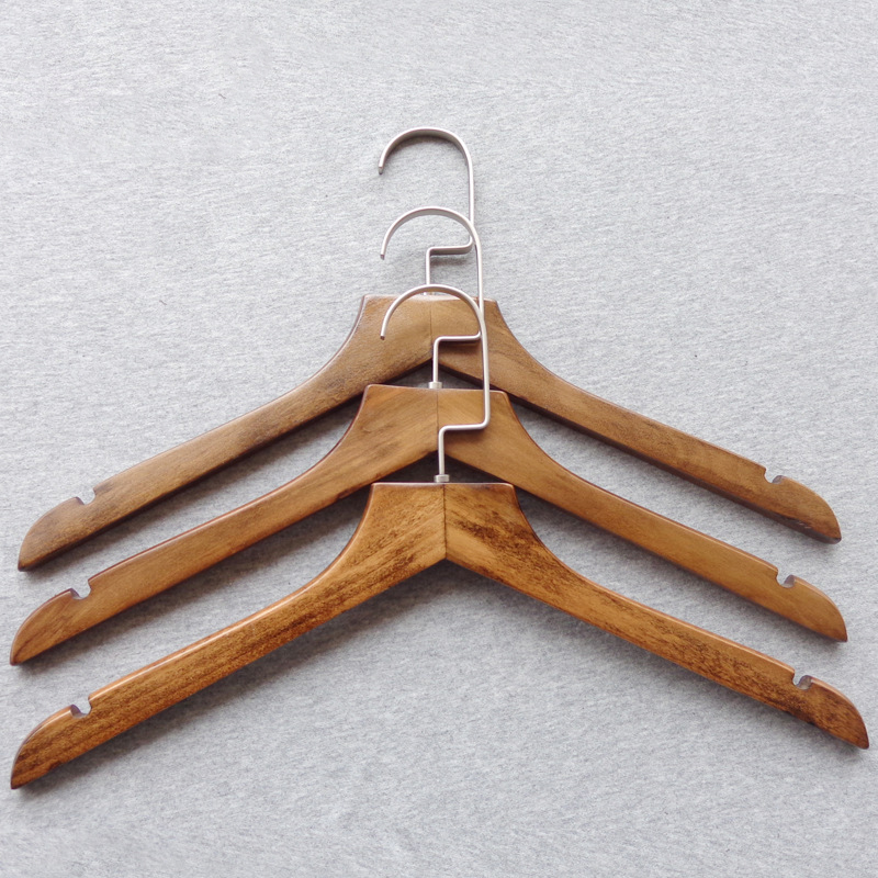 PMV4055 Body Shape Wooden Garment Hanger Display